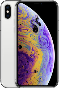 Apple iPhone XS - Silver, 256 GB, LL